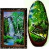 Natural stone paintings