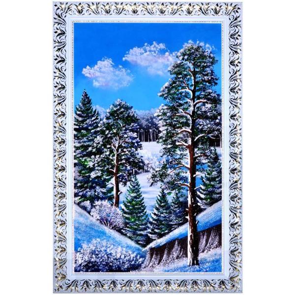 """Картина из камня """"Зима"""""""