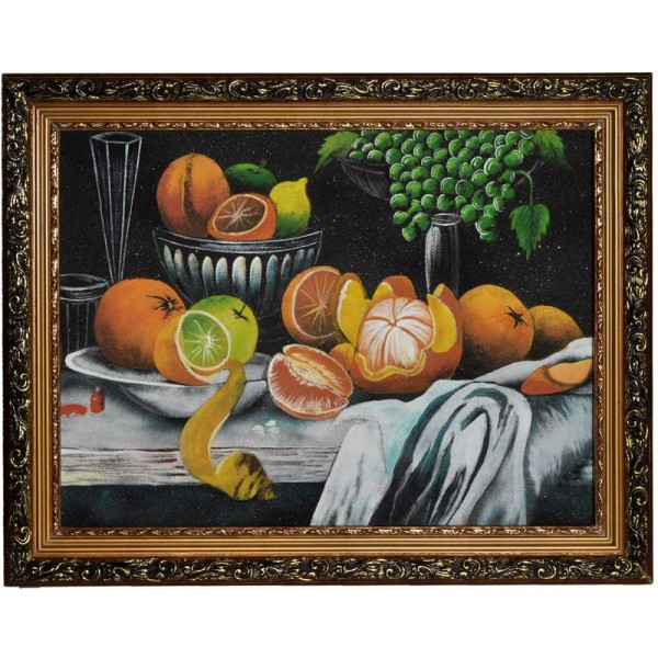 """Still life of stone chips """"Fruits"""""""
