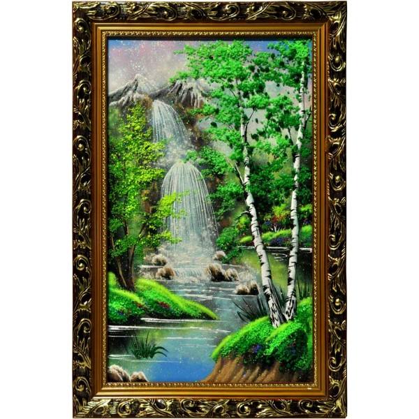 """Картина из камня """"Водопад"""""""