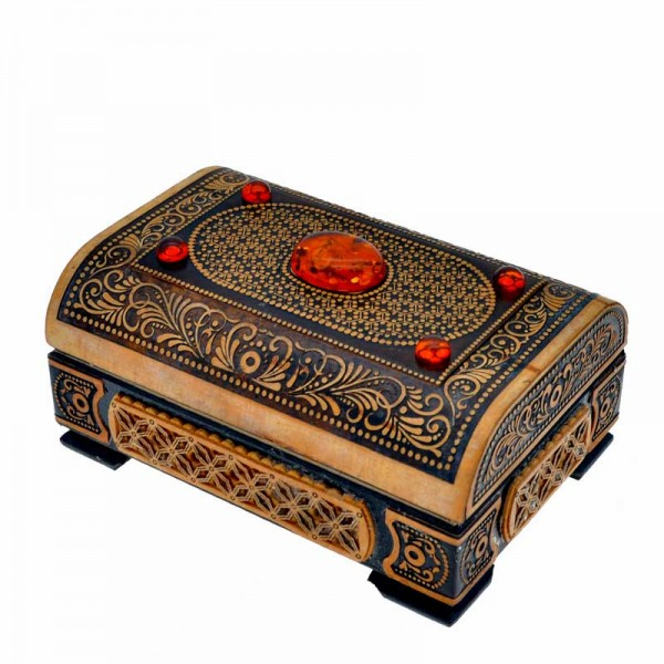 "Casket ""chest"" medium - amber"