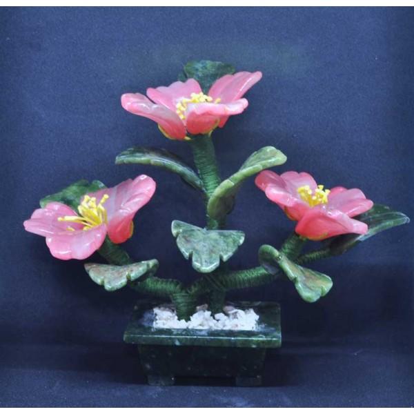 Цветы из камня - флюорит (бонсай)